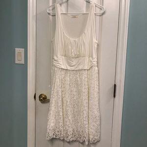 White lace Maitai dress size 1X